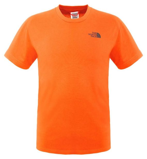 T-SHIRT THE NORTH FACE SIMPLE DOME TEE - ORANGE