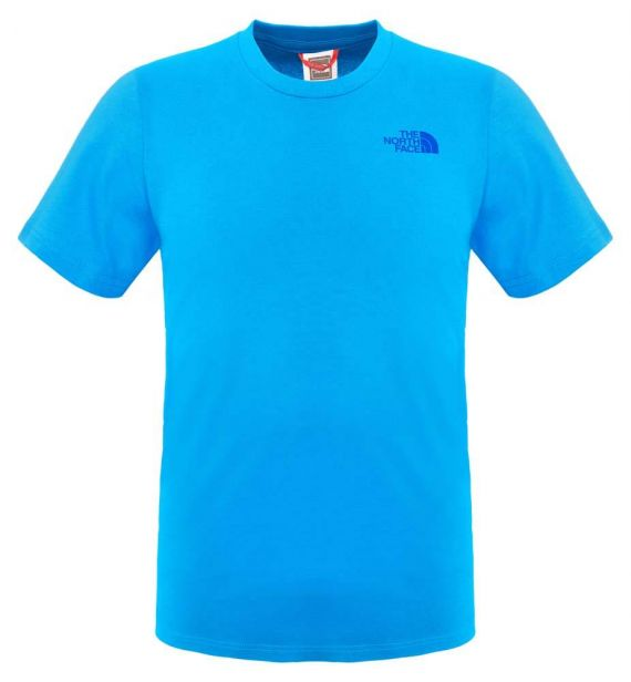 T-SHIRT THE NORTH FACE SIMPLE DOME TEE - TURCHESE