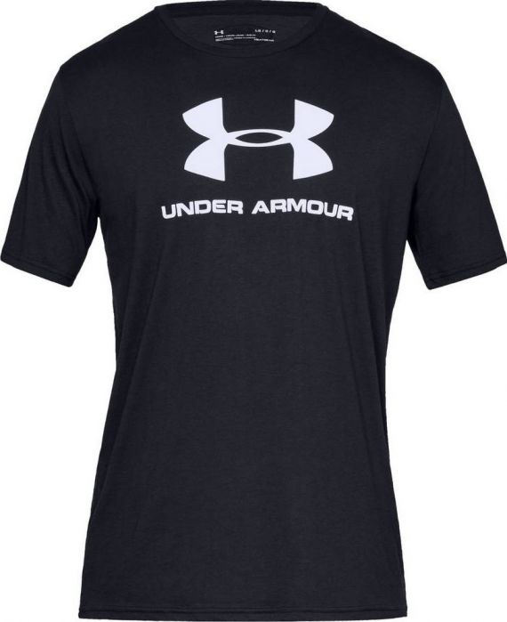 UNDER ARMOUR T-SHIRT SPORTSTYLE NERO