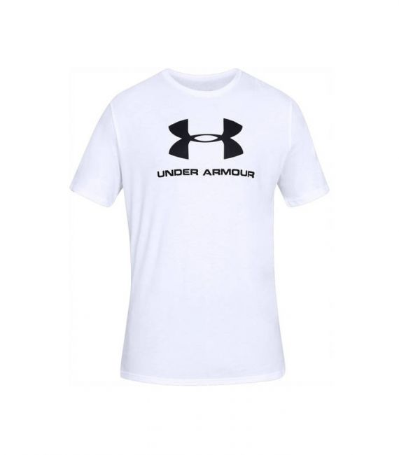 UNDER ARMOUR T-SHIRT SPORTSTYLE BIANCO