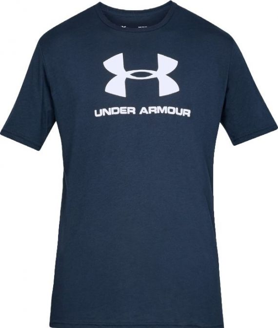 UNDER ARMOUR T-SHIRT SPORTSTYLE BLU