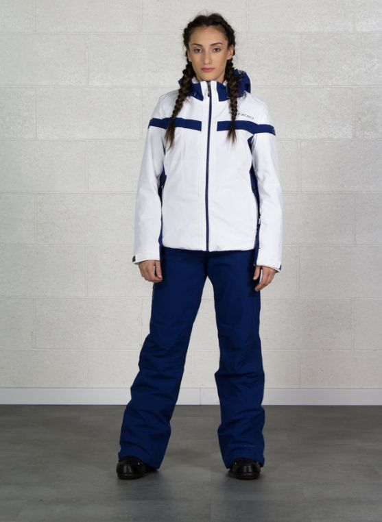 COMPLETO SCI WEST SCOUT DONNA 186WSY00417 MEG 100 BIANCO BLU