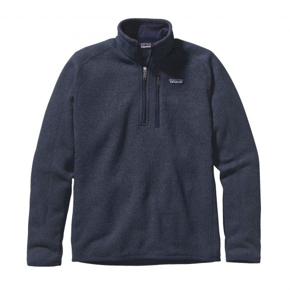 PATAGONIA FELPA 25522 BETTER SWEATER 1/4 CNY BLU