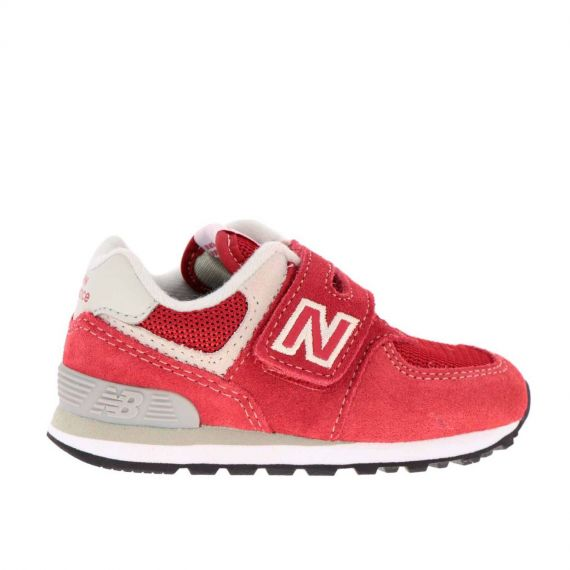 NEW BALANCE IV 574 RD BABY ROSSO