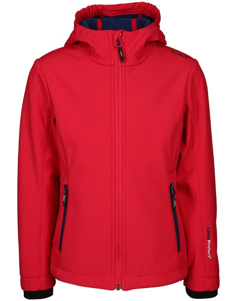 CAMPAGNOLO SOFTSHELL GIRL JACKET ROSSO