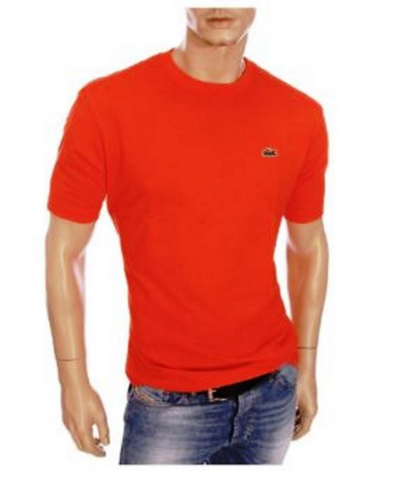 T-Shirt Lacoste Manica Corta TH7418 240 Rouge