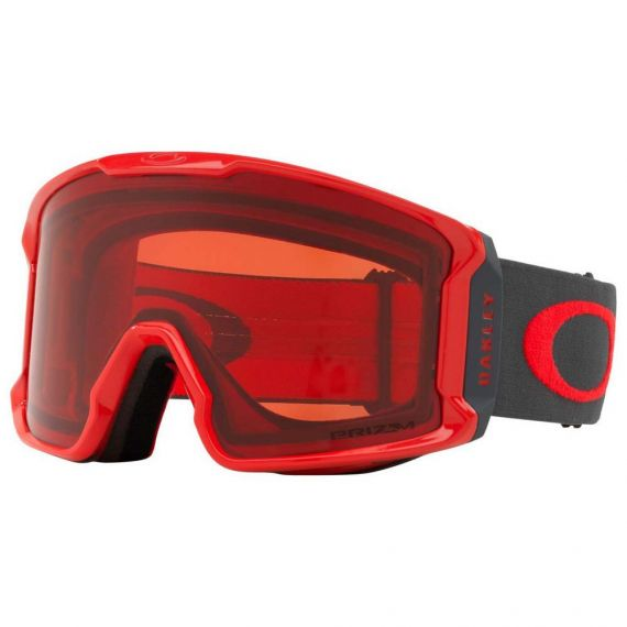 OAKLEY LINE MINER SNOW 7070 - (3901 Red Forged Iron W Prizm Rose)