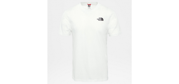 T-shirt Uomo THE NORTH FACE Simple Dome Tee Bianco