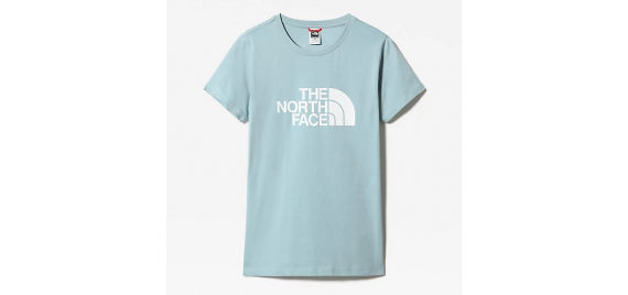 T-shirt Donna Easy Tee THE NORTH FACE Celeste