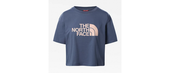 T-shirt Donna Easy Cropped Tee THE NORTH FACE Blu