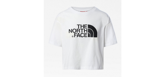 T-shirt Donna Easy Cropped Tee THE NORTH FACE Bianco