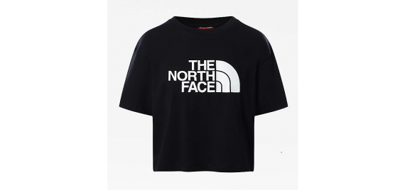 T-shirt Donna Easy Cropped Tee THE NORTH FACE Nero