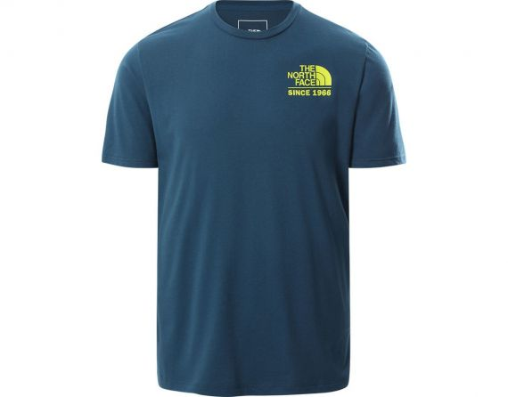 T-shirt Uomo M Foundation Tee THE NORTH FACE Blu