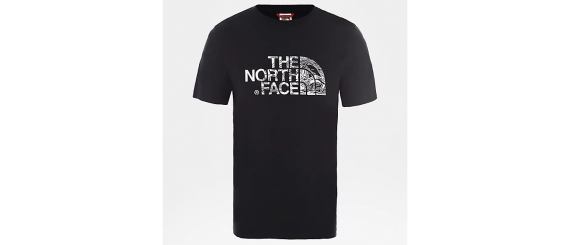 T-shirt Uomo THE NORTH FACE Wood Dome Tee Nero