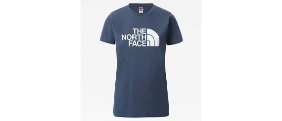T-shirt Donna Easy Tee THE NORTH FACE Blu Denim