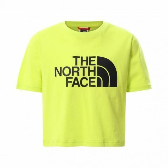 T-shirt  Easy Cropped Tee Bambina THE NORTH FACE Verde