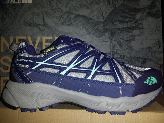 THE NORTH FACE STORM TR - GTX - T0CLW7DTQ -  Grey/Blue