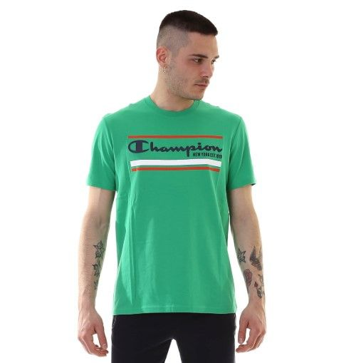 T-SHIRT CHAMPION UOMO VERDE